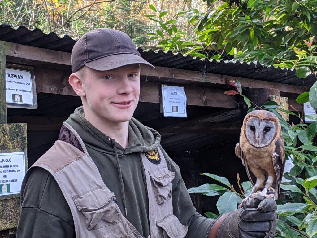 #dukeofedinburghaward Volunteer at Rutland Falconry and Owl Centre